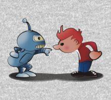 Bender & Fry One Piece - Long Sleeve