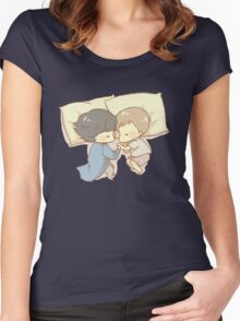 Sleeping Together Women's Fitted Scoop T-Shirt