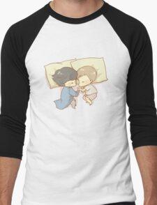 Sleeping Together Men's Baseball ¾ T-Shirt