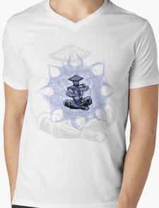 Thunder God Mens V-Neck T-Shirt