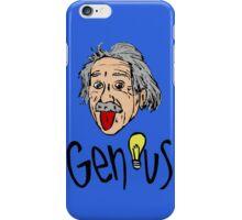 Albert Einstein bigmouth iPhone Case/Skin