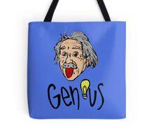 Albert Einstein bigmouth Tote Bag