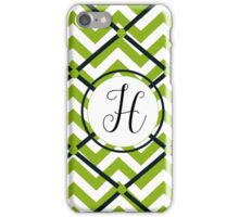 Awesome Chevron H iPhone Case/Skin