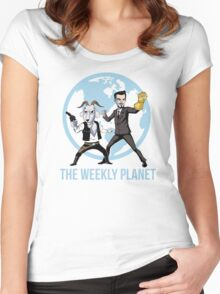 The Weekly Planet Women's Fitted Scoop T-Shirt