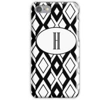 H diamonds iPhone Case/Skin