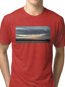 Dusk on the Water Tri-blend T-Shirt