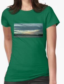 Dusk on the Water Womens Fitted T-Shirt