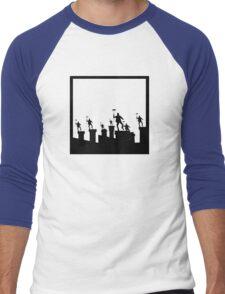 Step in Time Men's Baseball ¾ T-Shirt