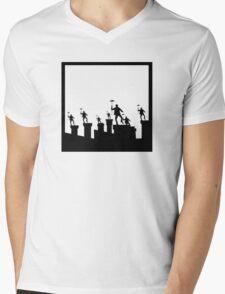 Step in Time Mens V-Neck T-Shirt