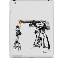 Megatron - Peace Through Botany iPad Case/Skin