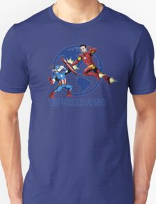 They Were Mates Then They Punch For A Bit Unisex T-Shirt