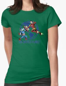 They Were Mates Then They Punch For A Bit Womens Fitted T-Shirt