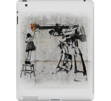Megatron - Peace Through Botany (Wall) iPad Case/Skin