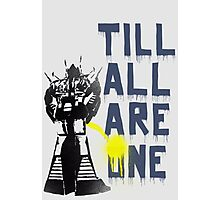 Rumble - Til All Are One Photographic Print
