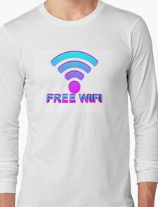 FREE WIFI Long Sleeve T-Shirt