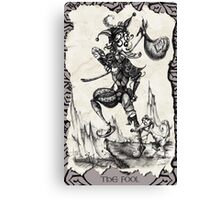 The Fool - Tarot Card Canvas Print