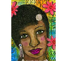 Sweet Sistah Girl Photographic Print