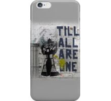 Rumble - Til All Are One iPhone Case/Skin