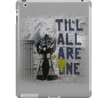 Rumble - Til All Are One iPad Case/Skin