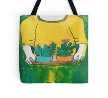 Cactus Girl Tote Bag