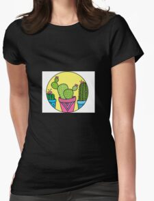 Cacti! Womens Fitted T-Shirt