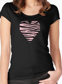 0541 Pink Tiger Women's Fitted Scoop T-Shirt