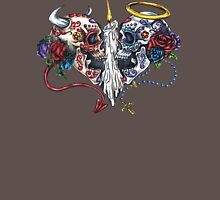 Sacred Day of Dead Womens Fitted T-Shirt