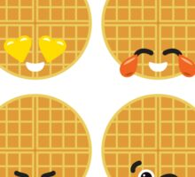Emoji Building - Waffles Sticker