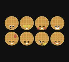 Emoji Building - Waffles One Piece - Long Sleeve