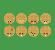 Emoji Building - Waffles Baby Tee