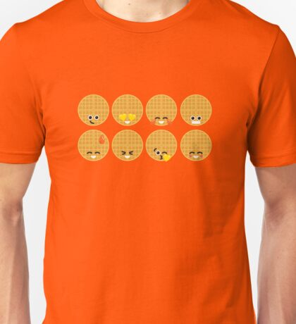 Emoji Building - Waffles Unisex T-Shirt