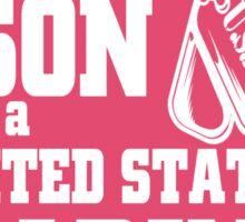 My Son is a United States Marine Sticker