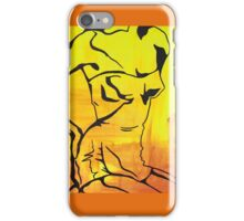 Vintage Swimsuit in Yellows iPhone Case/Skin