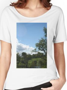 Country Views Women's Relaxed Fit T-Shirt