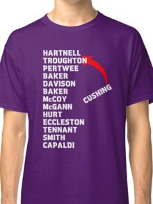 Doctor Who Actors  Classic T-Shirt