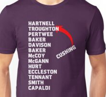 Doctor Who Actors  Unisex T-Shirt