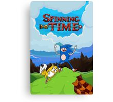 SPINNING TIME! Canvas Print