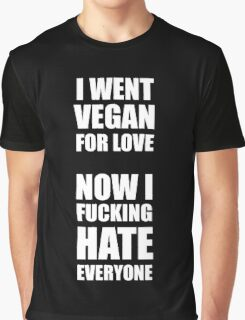 Vegan statement Graphic T-Shirt