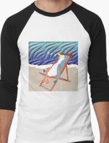 Seaside Nap Men's Baseball ¾ T-Shirt