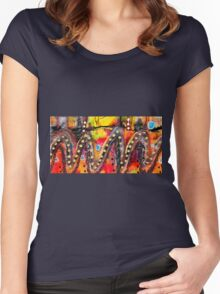 The Roller Coaster Women's Fitted Scoop T-Shirt