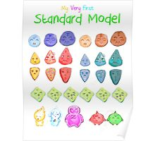 My very first standard model Poster