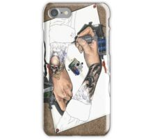 Drawing Hands iPhone Case/Skin