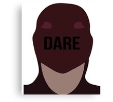Daredevil face Canvas Print