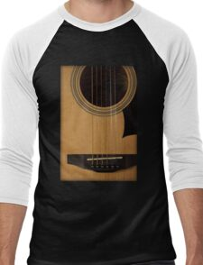 Acoustic Guitar Tee Men's Baseball ¾ T-Shirt