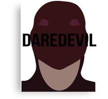 Daredevil text Canvas Print