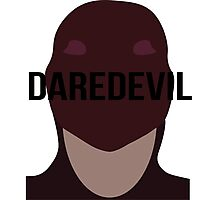 Daredevil text Photographic Print