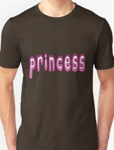Princess Statement With a Pink Glass Effect T-Shirt