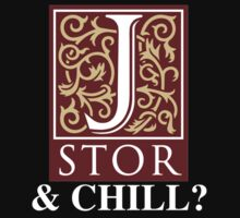 JSTOR and Chill? Baby Tee