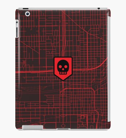 Map of the Dead Icon iPad Case/Skin