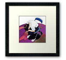 Shinji Neon genesis evangelion Framed Print